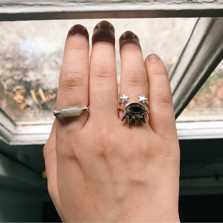 Olivier Agate ring, Ziggy + The - theserpentsclub | ello