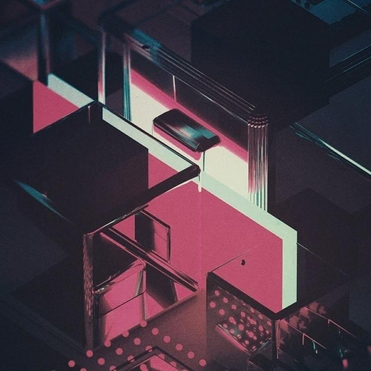 CROSSROADS - 3d, render, daily, otoy - florian_dks | ello