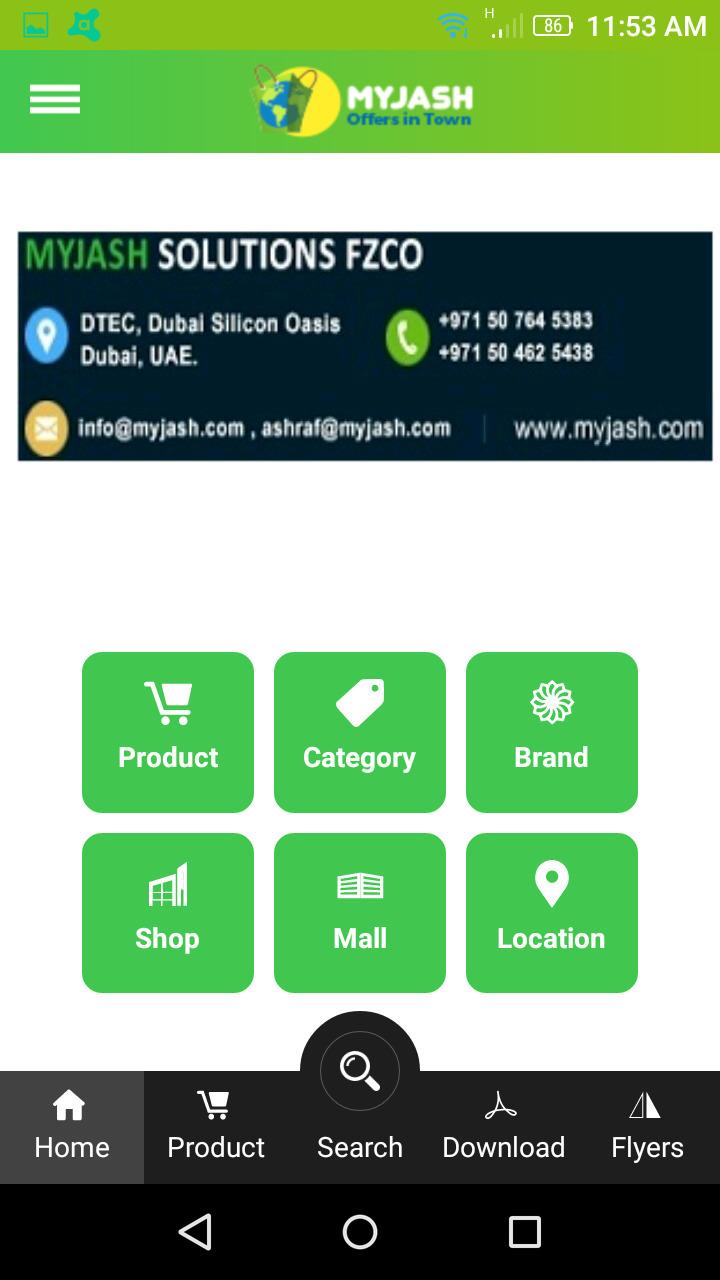 Google Play store - App Store - myjash | ello