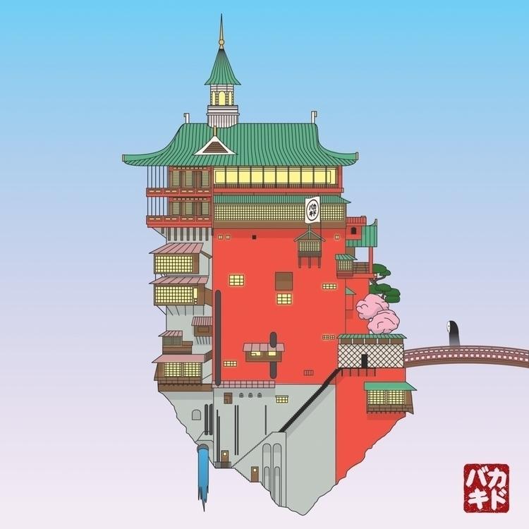 Studio Ghibli action, Spirited  - stupidkid | ello