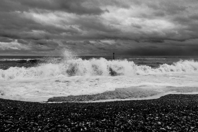 seascape: Southwold Beach - 6, beach - davidhawkinsweeks | ello