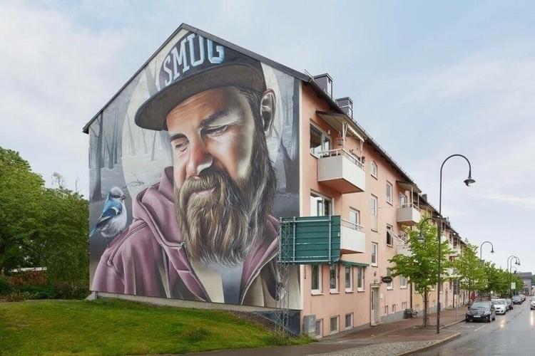 Artist: Smug Artscape Location - streetartunitedstates | ello