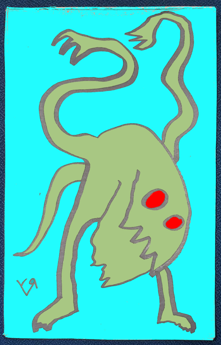 Creepy Lizard Beast Richard Yat - richardfyates   ello