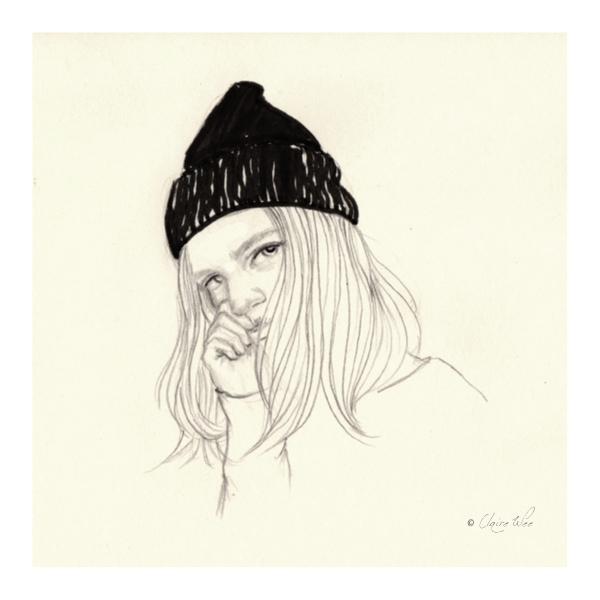 'Goodbye Winter - doodle, drawing - j0eyg1rl   ello