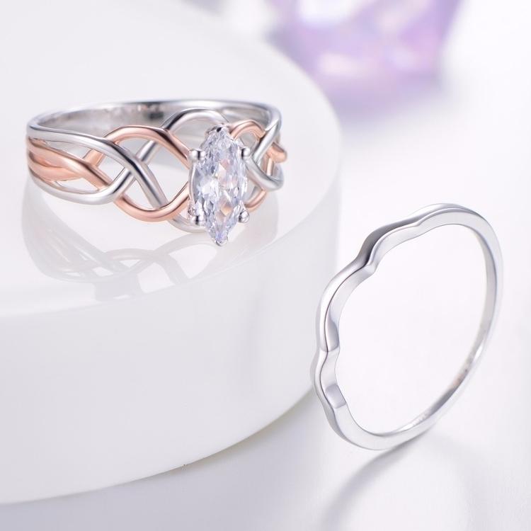 Simple Style Silver Bridal Set  - lucykane | ello