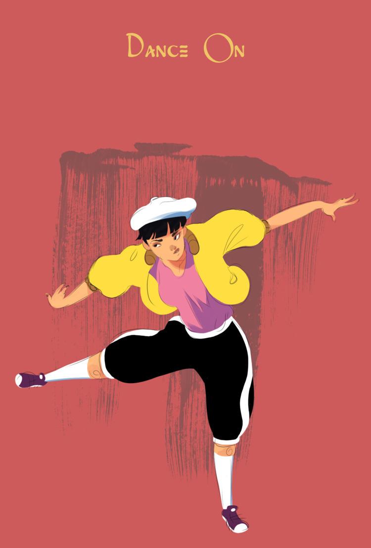 Dance Started Photoshop doodlin - dodgycodger   ello