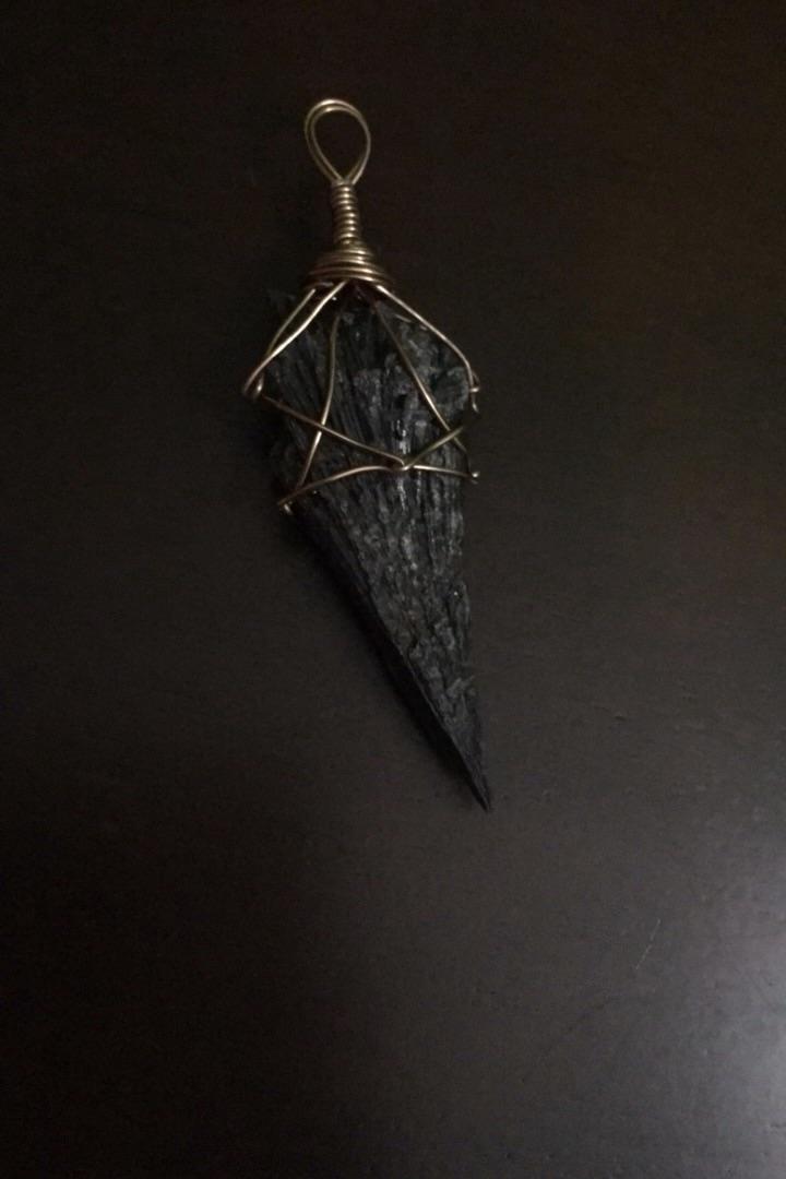 ( - Handmade Gemstone Pendants  - blackbirdbymaggiemae   ello