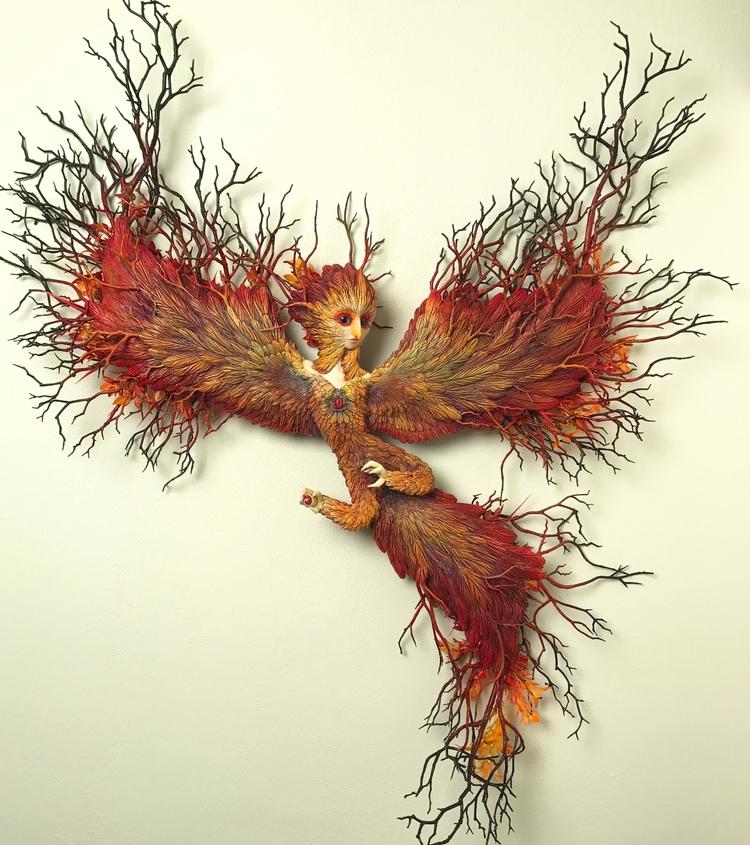 Ashes - phoenix, regeneration - christinekharris | ello