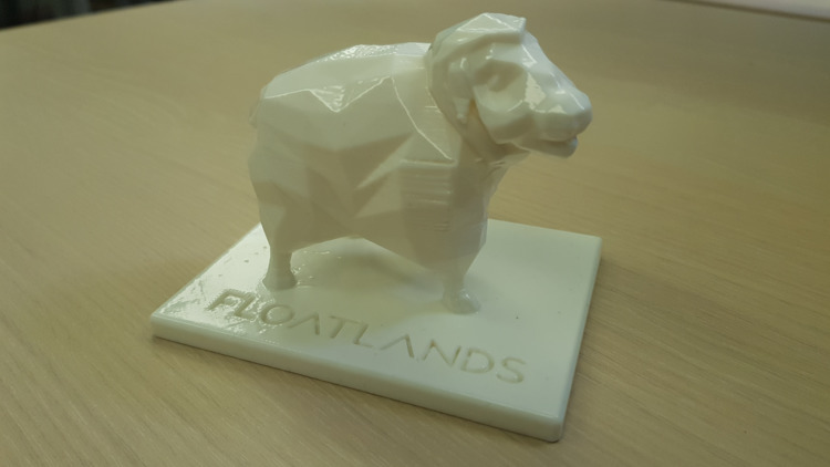 3D print sheep model pretty goo - floatlands | ello