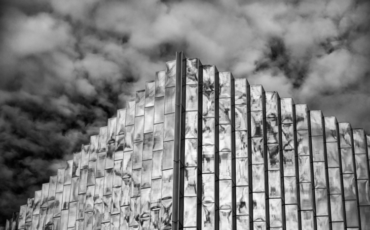 Clouds reflecting Count Court H - toddhphoto | ello
