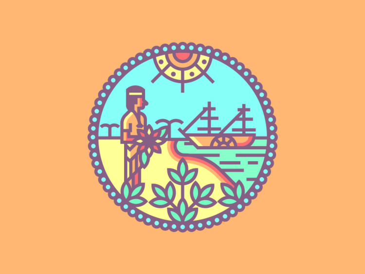 Florida Crest (214/365 - darumacreative | ello