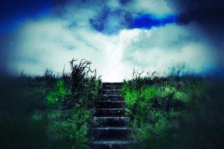 built stairs reach stars, wrong - philippe_schoen   ello
