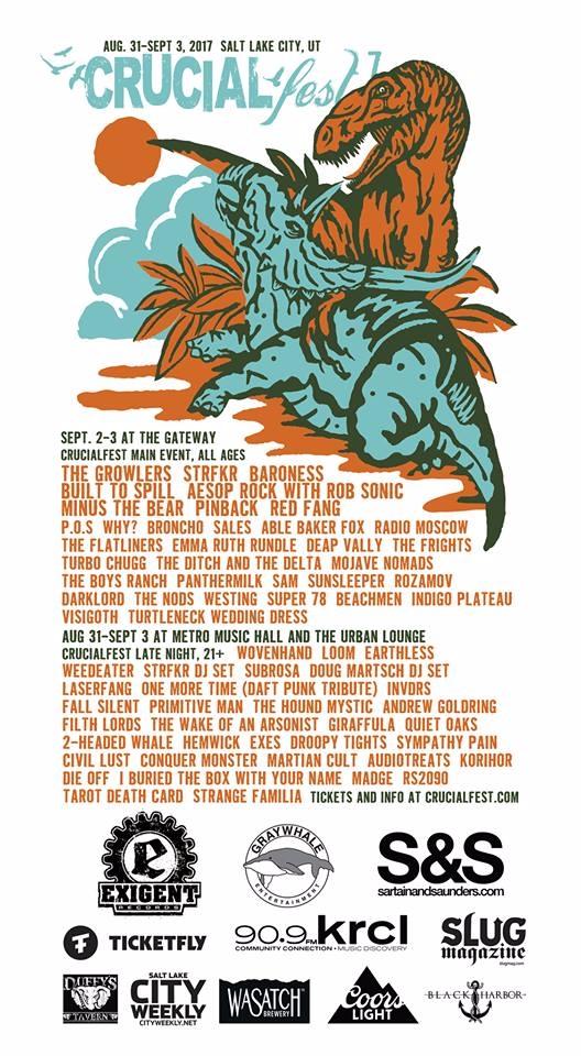 Crucialfest established event s - beardedgmusic | ello