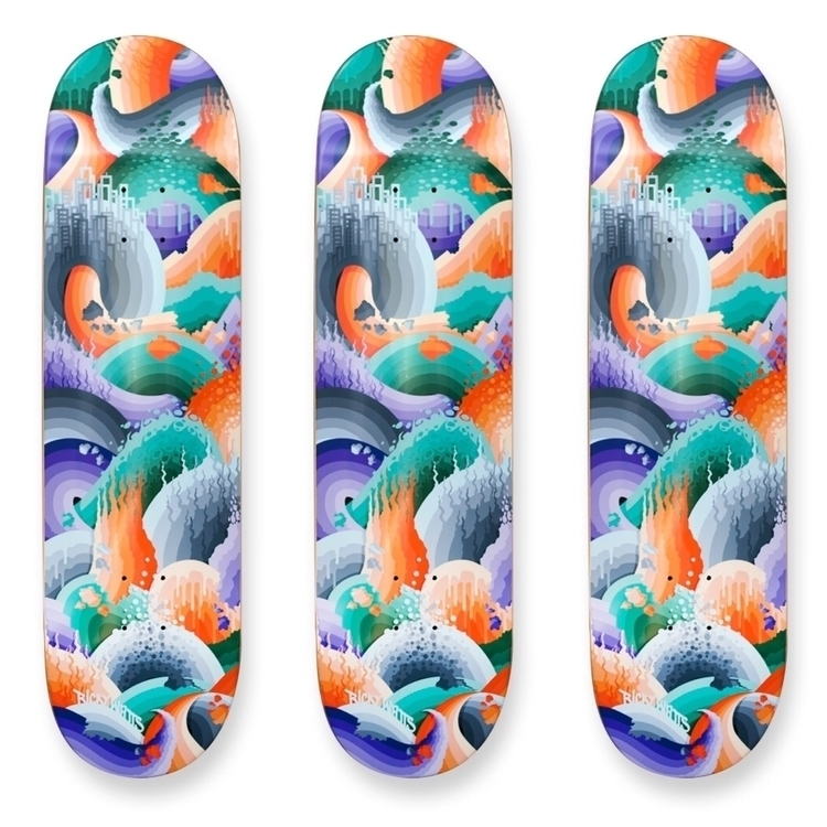 Skateboard released earlier yea - rickywatts | ello