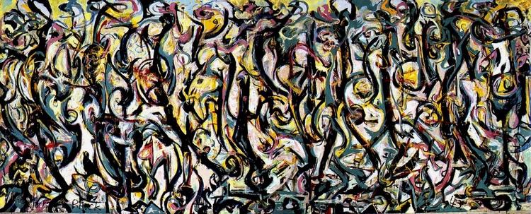 Myth Jackson Pollock, Peggy Gug - valosalo | ello