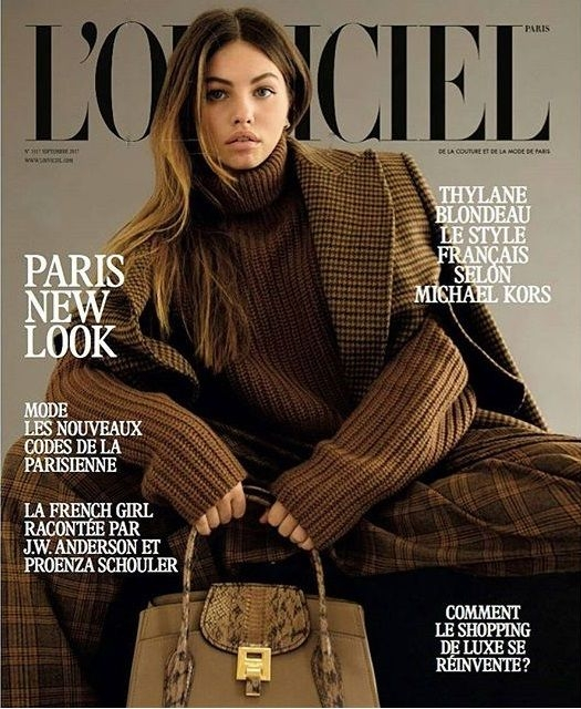 2017 lands LOfficiel cover, tim - magazinecafestore | ello
