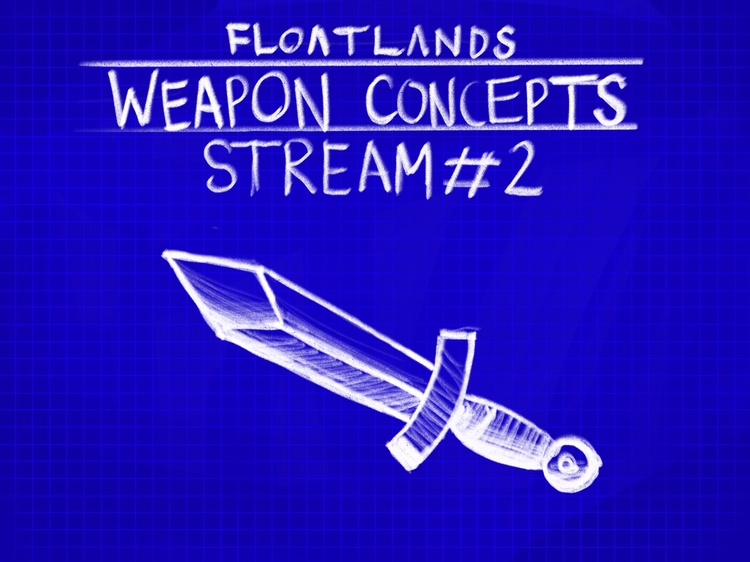 drawing sketches? Tune dev stre - floatlands | ello