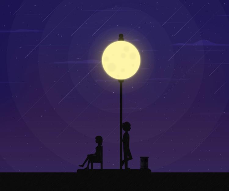 Waiting Vain Created - illustration - designmnl | ello