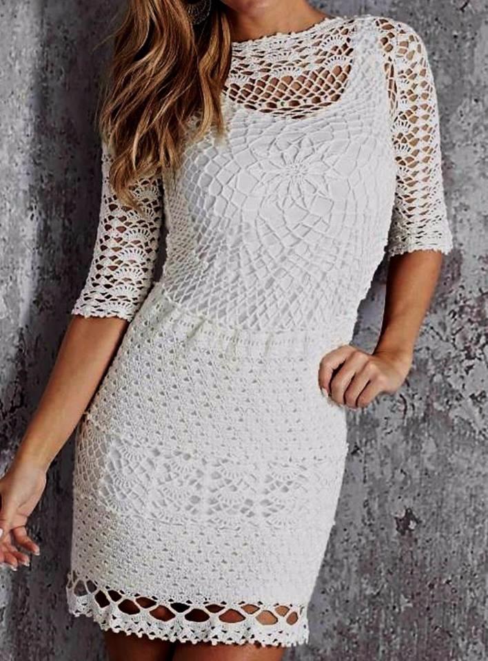 Girls crochet dress amazing. Fi - carlabreda   ello