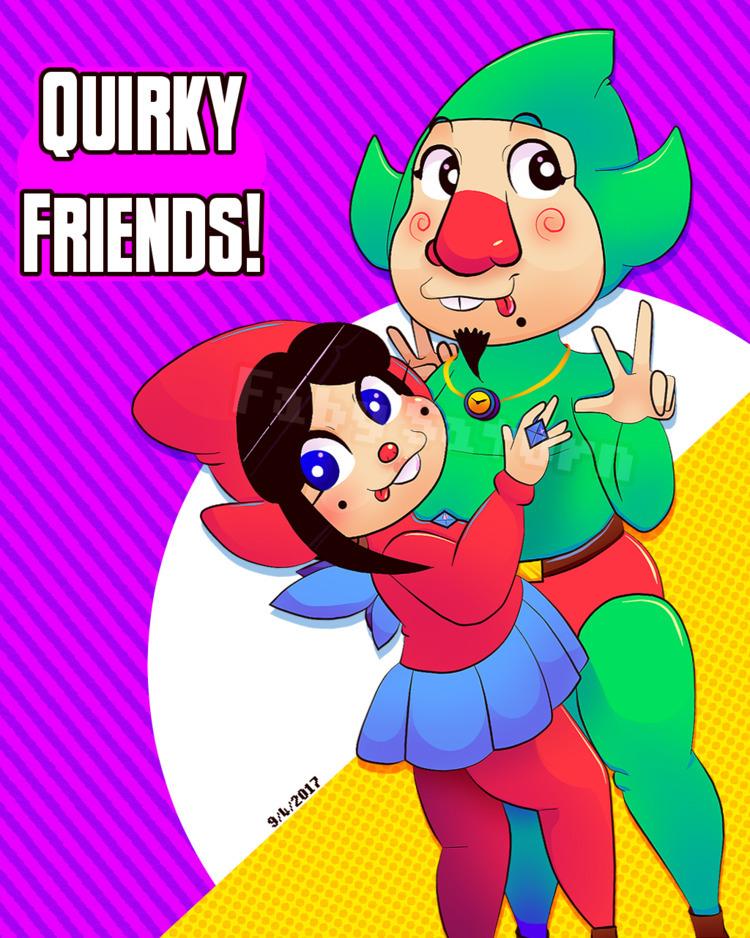 Quirky Friends (OC Canon Artwor - fabysaturn | ello