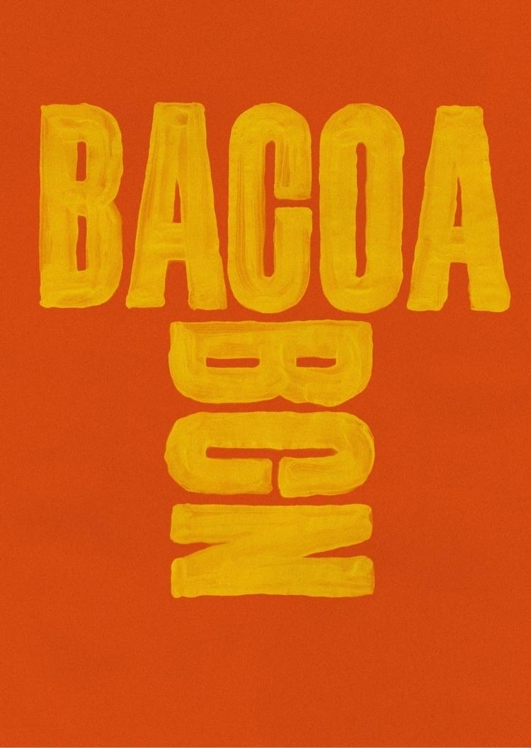 Bacoa, 2014, CMYK Offset, DIN A - martinlorenz | ello