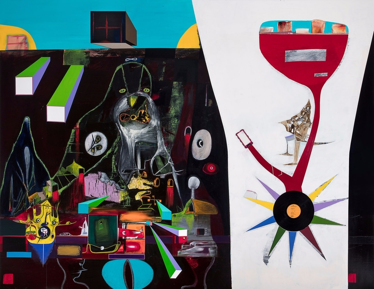 Gareth Sansom - art, bold, avatgarde - valosalo | ello