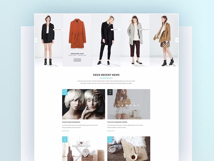 Dribbblers, homepage Fashion De - tranmautritam | ello
