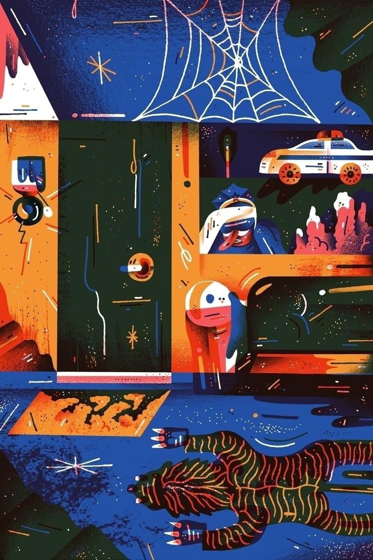 Bold colorful illustrations Nik - bldgwlf | ello