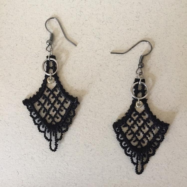 lace earrings 🖤 - jillspail | ello