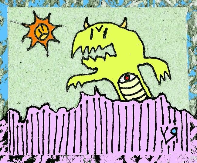 Giant Monster (Elbert) Richard  - richardfyates | ello