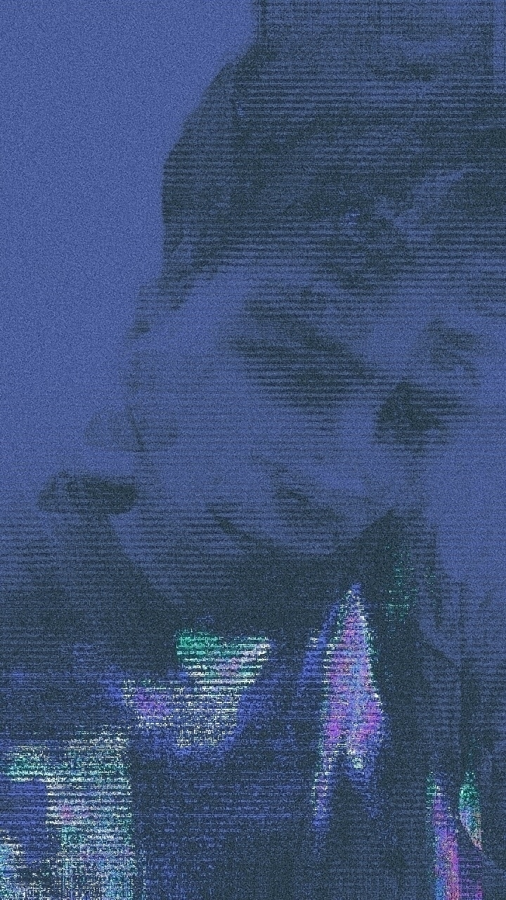 midnight - glitch, selfie, portrait - itsdemetris | ello