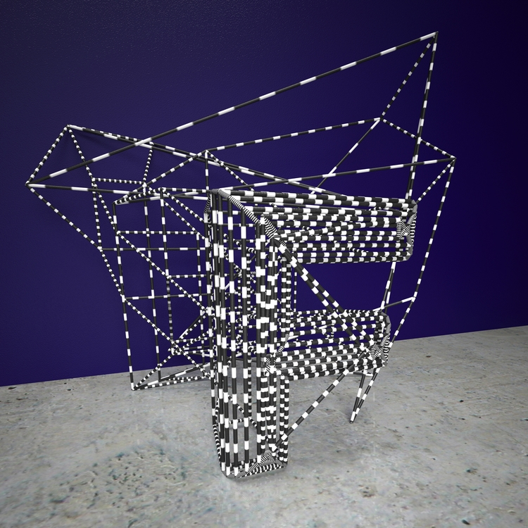 Glitch, Wire, Typography, 3D - aaaronkaufman | ello