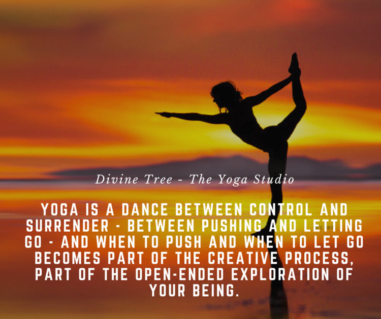 Yoga balance quote beautifully  - divinetree | ello