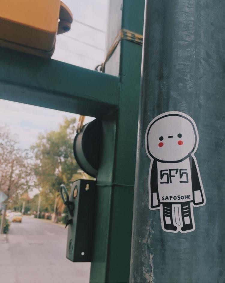 streetart, Stickers, Stickerart - safosone   ello