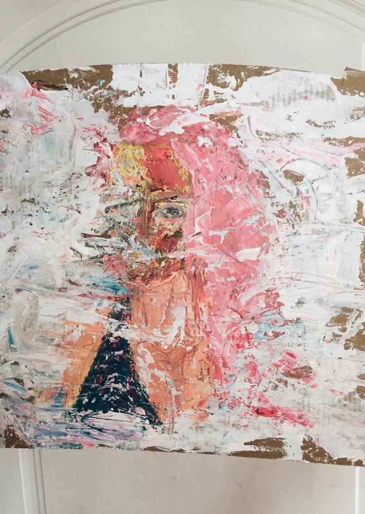 Silencio Paul Guerrero Acrylic  - paulguerrero | ello