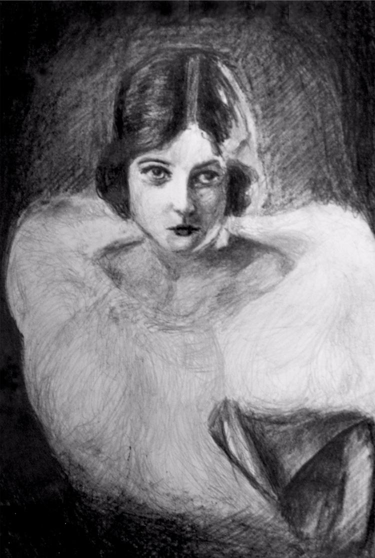 Ágnes Esterházy - sketch, sketchbook - maksmj   ello