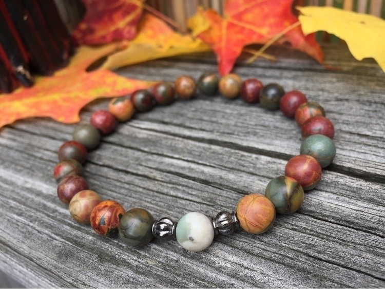 picasso beads, bohemian bracele - thestrungbead | ello