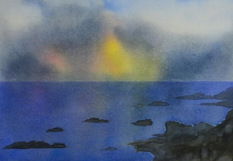 Horizon Watercolour - euric   ello