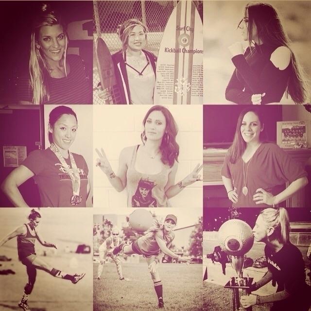 women Kickball talents sport gr - coolfreedude | ello