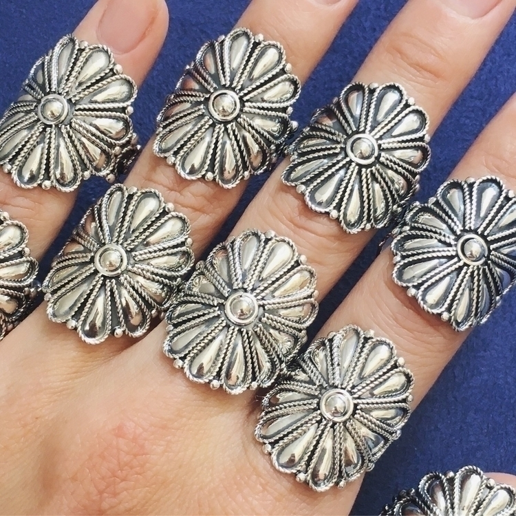 Fresh batch Wild Flower Rings | - seagypsycollection | ello