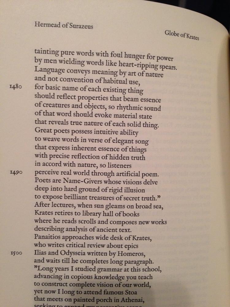 Poets Globe Krates Hermead Epic - surazeus | ello