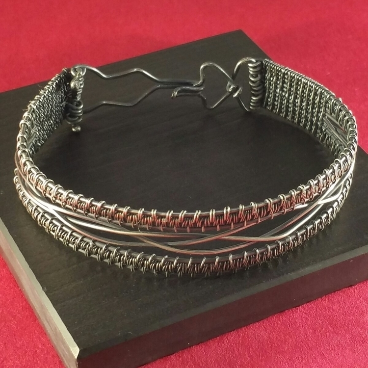 100% Fine silver, size 9 cuff b - jewelryone | ello