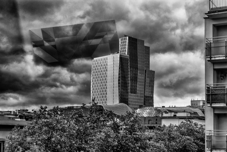 art attack window - MMK, cityscape - christofkessemeier | ello