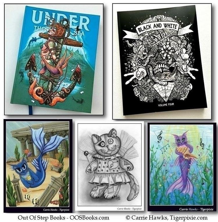 Wonderful News! artworks chosen - tigerpixie   ello