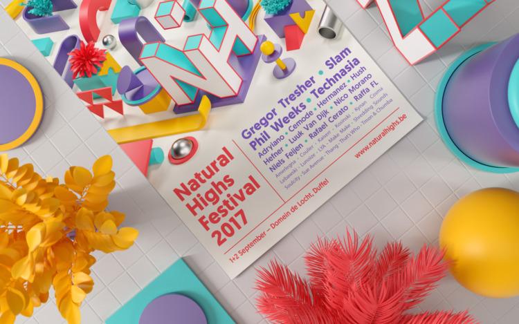 Identity Natural Highs Festival - serafimmendes | ello