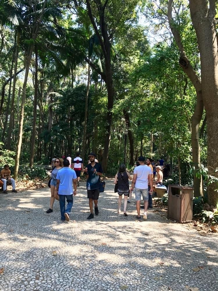 Parque Trianon tem piso de pedr - antoniomg | ello