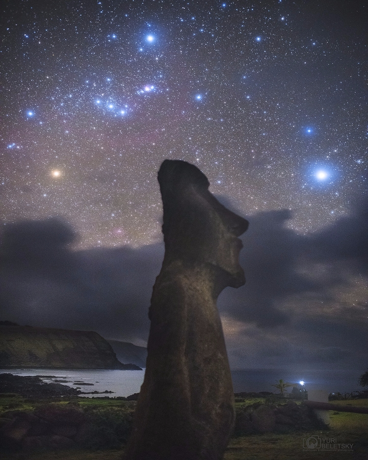 Orion Easter Island - space, civilization - valosalo | ello