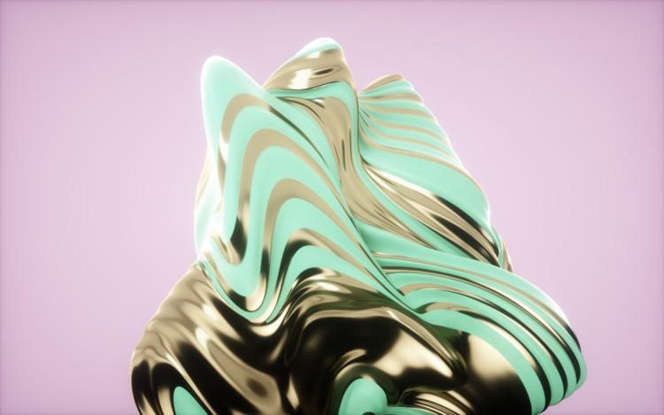 Simple Pastel Gold Cream, 2017  - dannyivan | ello