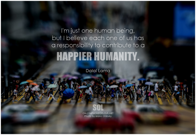 human responsibility contribute - symphonyoflove   ello