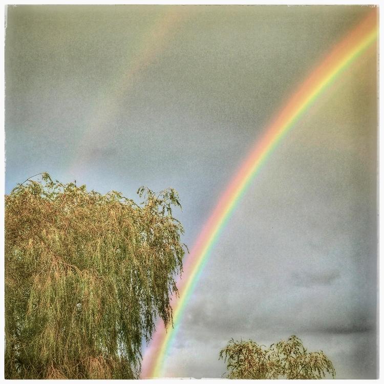 rainbowfinally, doublerainbowafterarainyday - willkreutz | ello